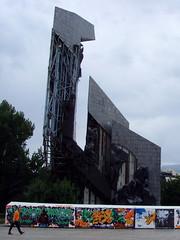 Sofia, Bulgaria - derelict public sculpture (johnnysenough) Tags: sofia  bulgaria blgarija bulgarie bulgarien centraleurope capitalcity travel vacation 100citiesx1trip derelict public sculpture snv37356