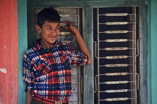 Smiling in Chitwan, Nepal