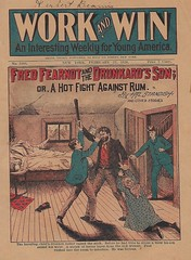 Temperance dime novel (steammanofthewest) Tags: dimenovel 1920 temperance fredfearnot boyhero