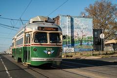 Rebuilt, Refined, and Restored (Nick Gagliardi) Tags: train trains trolleys streetcar trolley septa ptc pcc ii