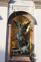 Michaelskirche, München (Buster&Bubby) Tags: munich germany michaelskirche münchen jesuit stmichaelschurch church baroquefacade baroque hubertgerhard archangelmichae