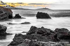DSC_0130 (Antonino Chiappone Surdi) Tags: isola delle femmine tramonto mare scogliere roccia