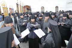 04. Arrival of Sanctities at Lavra / Прибытие святынь в Лавру 01.12.2016