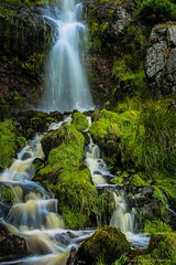Burnibrae Burn (john&mairi) Tags: burnibrae burn campsie fells scotland waterfall stream grass long exposure le