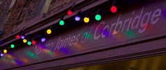 Norma James Reflections (ianwyliephoto) Tags: corbridge northumberland tynevalley christmas lights festive sparkling twinkle 2016 community
