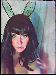 Bunny girl (BLACK EYED SUZY) Tags: bunny girl cosplay dressup night bunnyears self portrait selfie suzy