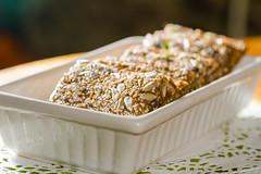 Raw vegan bread (Raoul Pop) Tags: dehydrated seeds delicious ligiaskitchen recipe dish slices bread nutritious rawvegan medias transilvania romania ro