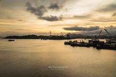 Kowloon Sunset. (bgfotologue) Tags: hk hongkong taikoktsui kowloon shore coast sunset longexposure tripod gitzo 500px 2016 moving clouds