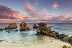 Arrifes (Vitor Pina) Tags: seascape beach sunset waterscape algarve photography moments sky ocean rocks