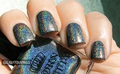 Born Pretty holo H001 Shine In The Dark (Simona - www.lightyournails.com) Tags: holographic grey bornprettystore bps esmalte smalto unghie manicure vernis nails nailpolish nagellack naillacquer nailswatch