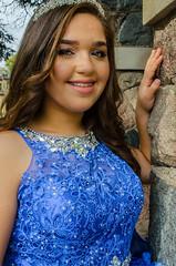 DSC_0463-11 (interfectvm) Tags: girl dress blue quince hispanic latina woman female beauty fashion culture