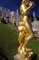 Peterhof St. Petersburg Statue