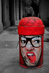 Yeah! (itsOriana_) Tags: street art graffiti bologna graffito rosso