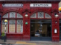 Underground Station: Maida Vale (Curry15) Tags: london cigars tobacco maidavale oxblood bakerlooline undergroundsign w9 finlays gradeiilisted faiencetiles 191415 maidavaleundergroundstation 288elginavenue rudolphavenue redglazedfaience