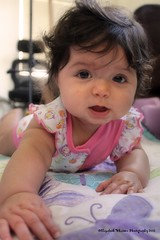 look at my gums! :) (butterflyashes) Tags: baby daughter 6months kaelyn sixmonthsold infantsmile kaelynrose