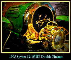 1905 Spyker 12/16HP Double Pheaton (PictureJohn64) Tags: auto heritage classic car museum automobile driving traffic famous den transport double hague collection commercial transportation historical haag collectie 1905 fahrzeug oto spyker historisch verkeer vervoer klassiek  samochd beroemd gravenhage otomobil louwman pheaton automobiel worldcars  1216hp automoviel klassiesch