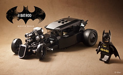 The 'other' car    minifig scale lego Batmobile (_Tiler) Tags: lego batman hotrod minifig dccomics batmobile minifigure batmanforever minifigscale batrod legobatmobile