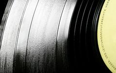 Solar plane. HSS! (Ianmoran1970) Tags: music sun white black macro yellow canon circle circles vinyl tracks 100mm plastic rings planet record jar planets grooves saturn concentric hss strobist ianmoran concentrics sliderssunday ianmoran1970 addedadditionalstrobistdetail