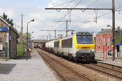 Blogistics 1313 @ Courriere (Peter Van Gestel) Tags: alstom nmbs sncb serie13 ligne162 courriere reeks13 lijn162 blogistics