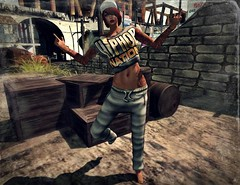 ..:: OUTFIT 08 ::.. (NyTrO StOrE) Tags: street urban woman man store mesh wear clothes hip hop styel nytro