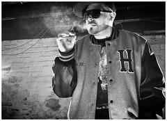 SMOKE BOI (ReneChancesMartinez) Tags: white chicago black canon hip hop rap strobist t2i