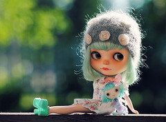 I just love little Blue.. and her dolly :)