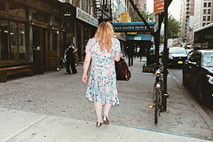 (brian james) Tags: life street nyc girls woman film floral girl 35mm studio photography james women dress manhattan brian flash scene east kip shake brianjames cz adventures 23rd gramercy brianjamesphotography briankip httpbrianjamesphotographynet httpbrianjamesphototumblrcom httpbriankipcom