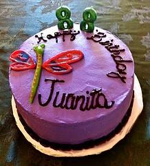 Dragonfly Cake by Vicki H, Santa Cruz CA. www.birthdaycakes4free.com
