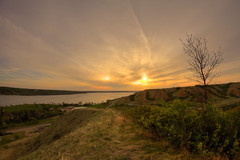 Path to the Sun (Michael Squier) Tags: nature landscape fisheye saskatchewan 8mm hdr bower lebret