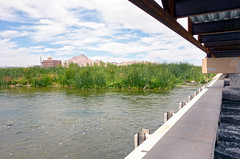 On Weir First (ken mccown) Tags: nevada erosion wetlands mojavedesert urbanriver lasvegaswash clarkcountywetlands