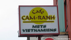 Caf Cam-Ranh (Gerard Donnelly) Tags: sign enseigne