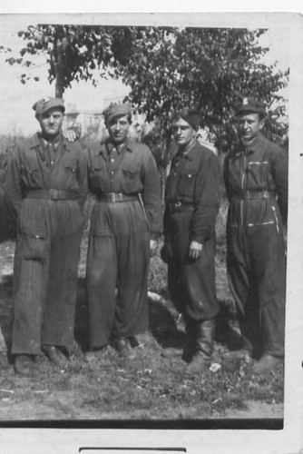 Dad and tank crew