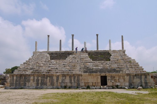 The Roman Hippodrome,  Al Bass Archaeological Site, Tyre