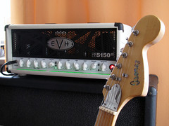EVH III & Ibanez 2375 (Evolution7gsr) Tags: japan 30 vintage cabinet iii amp mini fender strat stratocaster ibanez lawsuit evh hugheskettner 2375