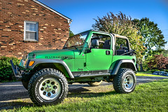 Newest Toy (NickEnglund) Tags: green 2004 electric virginia lift jeep mickey lynchburg thomson kit lime hdr wrangler rubicon bfgoodrich