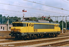 NS 1610 (HOMCN) Tags: railroad train ns zug 1600 loc frans trein lok roosendaal locomotief lokomotief