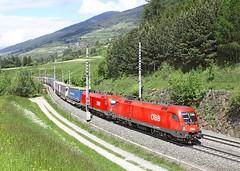 OBB 1116 103, Matrei am Brenner, 23 May 2013 (Mr Joseph Bloggs) Tags: electric austria am merci pass brenner railway cargo locomotive taurus bahn 103 freight obb matrei 1116 brenero