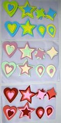 Shapes type 2 size 3-5 cm (sweetinspirationsaustralia) Tags: cupcaketoppers