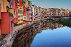 Doble (Salva Pags) Tags: house rio river mirror reflex girona reflected espejo reflejo casas gerona cases mirall riu onyar girons