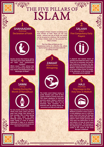 "5 Pillars in Islam • <a style=""font-size:0.8em;"" href=""http://www.flickr.com/photos/97145415@N02/8986791246/"" target=""_blank"">View on Flickr</a>"