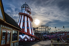 Clacton on Sea - Fun fair (alalchan) Tags: pier seaside ride helix funfair clacton clactononsea