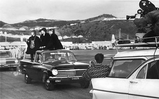 The Beatles at Wellington Airport