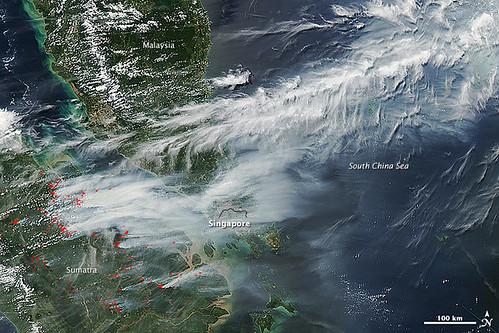 Smoke Engulfs Singapore [annotated]