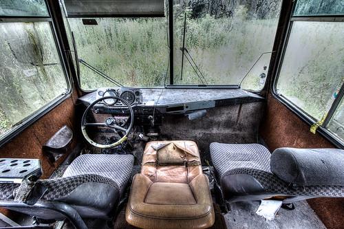 {Urbex} Bus oublié (explore)