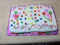 Cake by Pat, Marion, IA, www.birthdaycakes4free.com