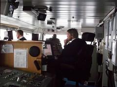 Captain has the bridge (Yipski) Tags: cruise norway svalbard captain arcticcircle shipsbridge msexpedition gadventures polardaylight