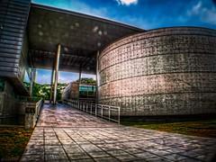 Biblioteca Brasiliana (rvcroffi) Tags: brazil building arquitetura brasil architecture sopaulo library olympus biblioteca hdr usp hdri universidade butanta brasiliana mindlin uploaded:by=flickrmobile flickriosapp:filter=nofilter