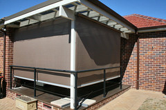 Cable-Guide Awning