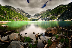 La Blanca (AlexKrengel) Tags: lake snow ice water outdoors nikon rocks nw hike glacier alpine cascades wa backcountry washingtonstate pnw d800 glacial alexkrengel