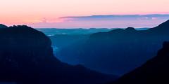 Govett colour 2 (eanwe) Tags: light sunlight mist water rock sunrise landscape objects bluemountains valley govettsleap flickrandroidapp:filter=none
